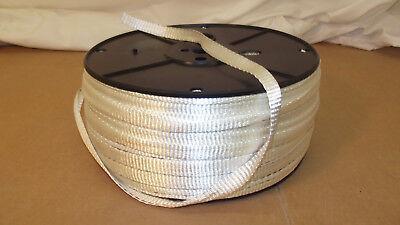 "1/2"" x 1000'  1800# tensile polyester pull tape, mule tape, webbing"