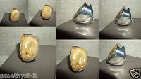 Anello Ring Gemstone Giada Jade Dolphin Hand Made Argento 925 Misura 18 China -  - ebay.it