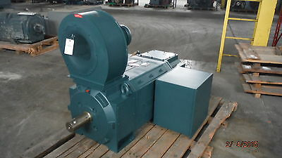 400 HP Baldor Reliance DC Electric Motor, 1150 RPM, C4413ATZ Frame, 500 V, New