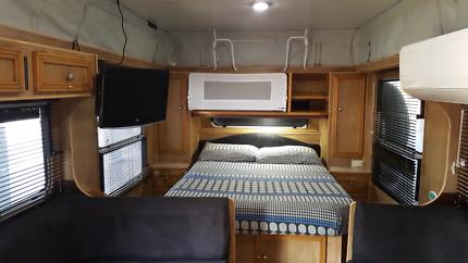 2001 Semi-Offroad Millard Challenger Caravan