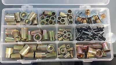 Threaded Insert Kit With Plates And 18 Rivets