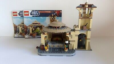 Lego Star Wars 9516 Jabba ´S Palace No Figurines pre Owned with Building