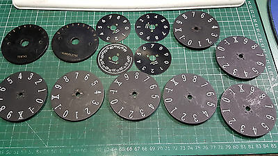 Number Counting Dial For Potentiometer Rotary Switch Rotary Dial Switch