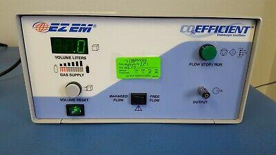 Ez-em Co2efficient Endoscopic Insufflator 6600 Ez Em Co2 Efficient