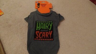 Dog, Halloween Costume, T-Shirt, 1-Piece, Hairy-Scary, Size:Medium, New w/Tags - Scary Dog Costumes