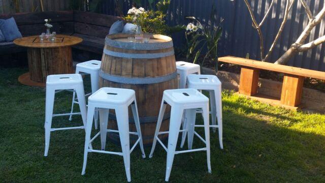 Bar stools wine barrels rustic wedding hire wedding gold  : 58 from www.gumtree.com.au size 640 x 360 jpeg 44kB