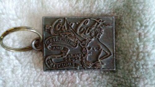 Vintage Coca-Cola keychain Ring