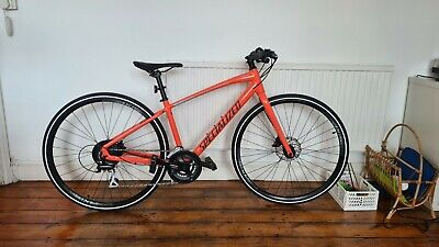 Specialized Sirrus 2.0 Hybrid Bike 2020 XS Coral with Disk Brakes