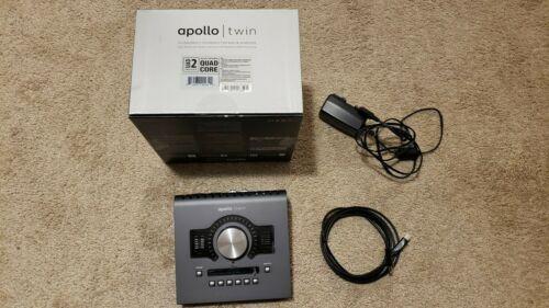 Universal Audio Apollo Twin MKII QUAD Thunderbolt 2 Interface