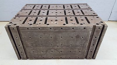 T-slot Workholding Tombstone Riser Block Fixture Table Angle Block 36x26x18
