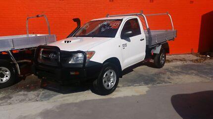 2006 TOYOTA HILUX SR 4X4 KUN26R D4D MANUAL Granville Parramatta Area Preview