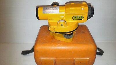 Nikon Ax-1 18x Optical Theodolite Automatic Level W Case