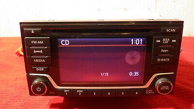Nissan Oem Radio w XM Satellite CD Player Stereo Head Unit Frontier Sentra 14-17