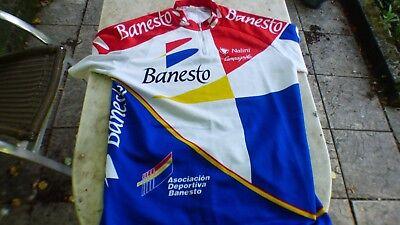 maillot de vélo vintage Banesto Campagnolo Nalini T5
