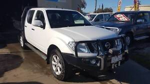 2014 Nissan Navara ST Duel Cab Tray Ute TURBO DIESEL LOW KMS 4X4 Williamstown North Hobsons Bay Area Preview