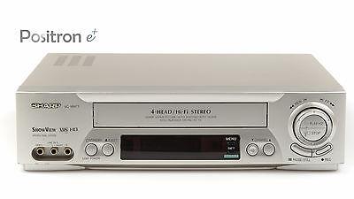 Sharp Videorecorder + FB ++ VHS Videorekorder ++ gewartet, 1 Jahr Garantie ++