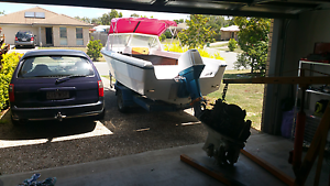 Seafarer and trailer Crestmead Logan Area Preview