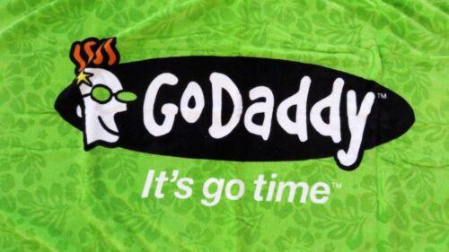 GoDaddy  RARE Beach Towel Advertising