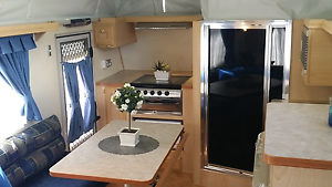 Caravan Poptop Coromal Shower Toilet air con TRADE IN CONSIDEREDl West Beach West Torrens Area Preview