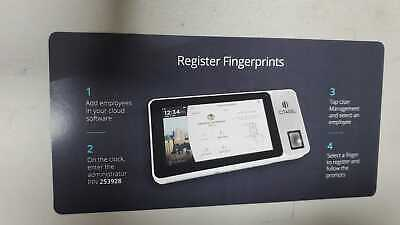 Citadel Cloud-based Touchscreen Time Clock With Biometric Finger Scan