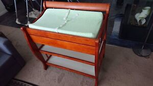 Solid Changing Table + mattress