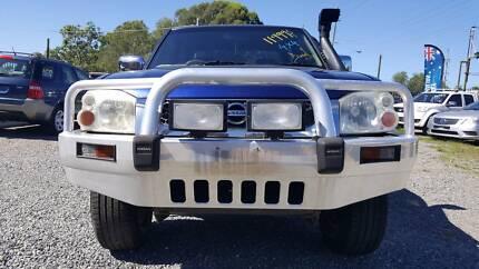 2004 Nissan Navara Ute/DIESEL//4X4/MANUAL/RWC/REGO