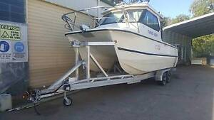 Noosa Cat 2400 Volvo Sterndrive Duoprop Lawnton Pine Rivers Area Preview