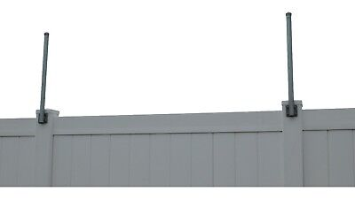 Vertical Extend-a-post Extensions - Woodpvc Fence - Flat Or Surface Mount - 10