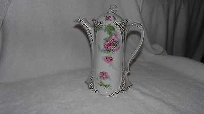 Antique Hansburg Austria China Chocolate Tea Pot