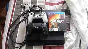 Play station 4 (ps4) + BO3 hardend addition Churchill Ipswich City Preview