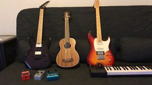 Trade multiple guitars for one