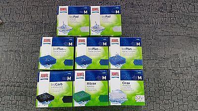 Flower Compact (Juwel Filtermedien Set Bioflow 3.0 / Compact M / BioPad BioPlus Biocarb Nitrax..)