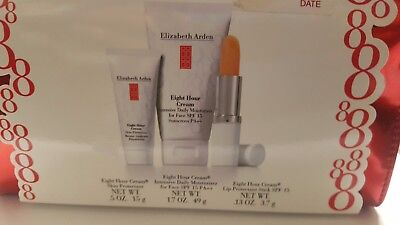 ELIZABETH ARDEN EIGHT HOUR CREAM SKIN PROTECTANT 3-PIECE GIFT SET WITH PURSE