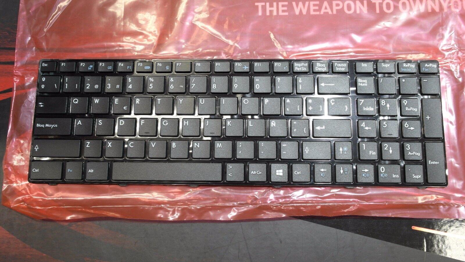 Genuine Msi Gp60 Gp70 Cx61 Steelseries Keyboard Int'l Spa...