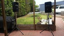 pa speakers for vocalist band dj pub or club Warrane Clarence Area Preview