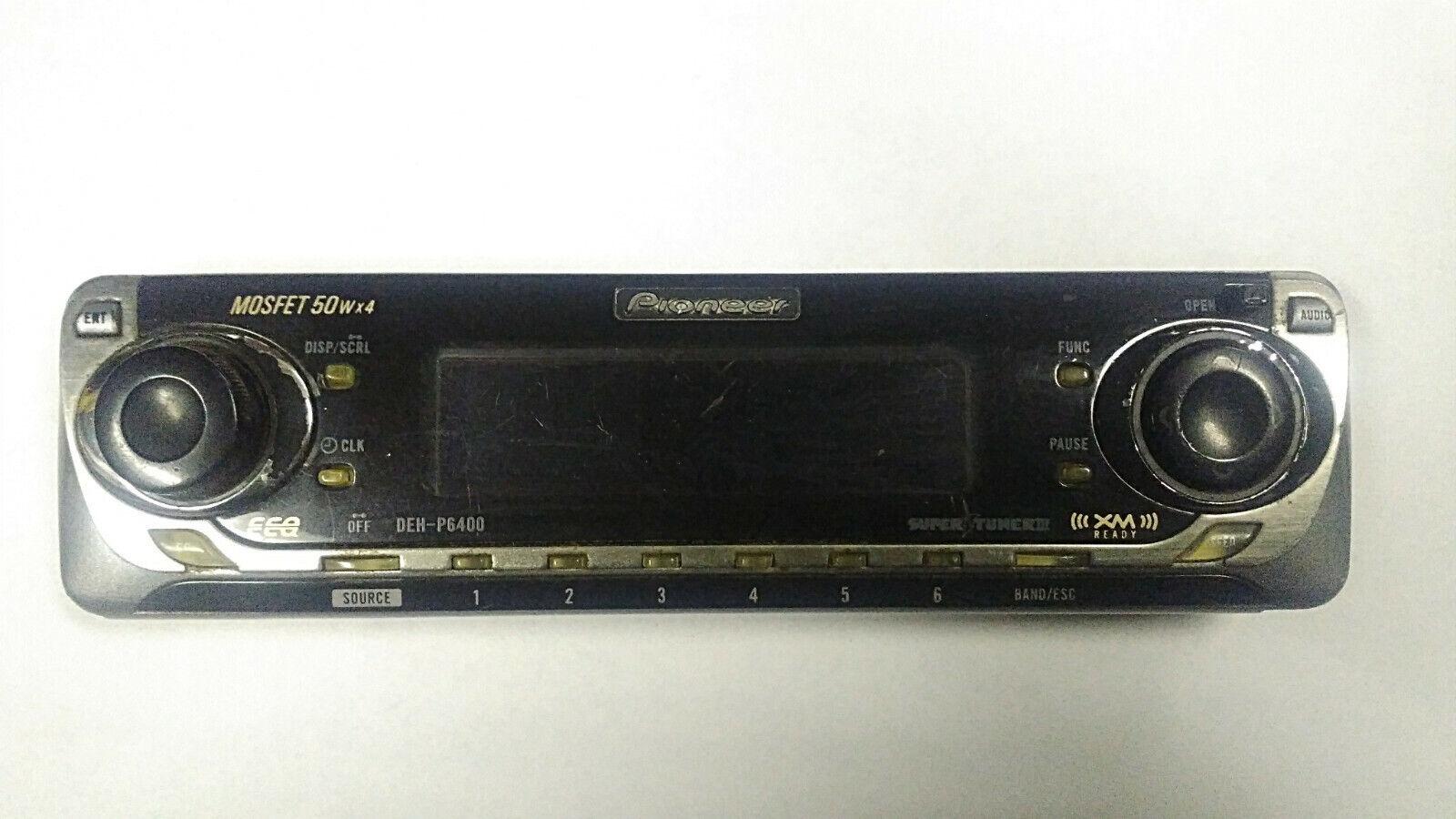 Купить Pioneer DEHP6400 AMFM CD Radio Headunit Detachable Flip Faceplate Replacement лот 163977197713