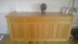 Crafted furniture Tasmanian Oak and Redgum Umina Beach Gosford Area Preview