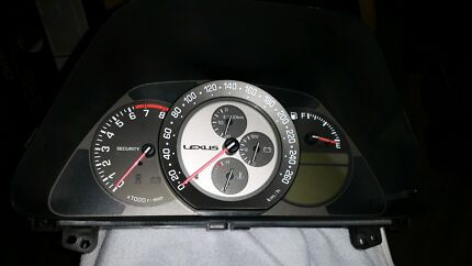 Lexus IS300 dashboard cluster Wetherill Park Fairfield Area Preview