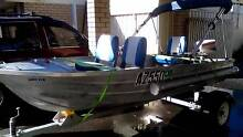 Registered 3.6m tinnie boat with new Registered trailer.. Scarborough Stirling Area Preview