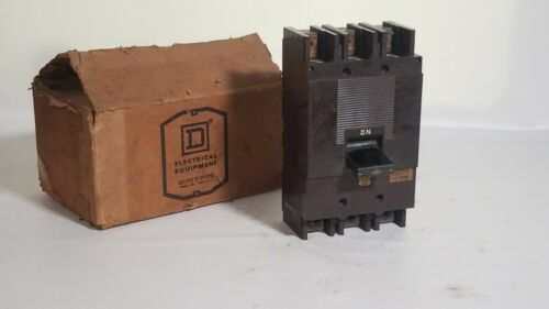 Square D 987327 225A Circuit Breaker 240 VAC 3 Pole Type ML3 225 Amp lugs