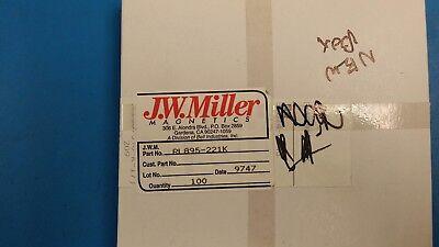 10 Pcs Rl895-221k Jw Miller Fixed Rf Inductors 220uh 10