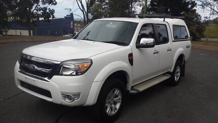 2010 FORD RANGER XLT AUTOMATIC 4X4 CREW CAB UTILITY Rochedale South Brisbane South East Preview