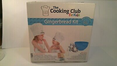 The Cooking Club for Kids Gingerbread Kit New In Box -