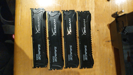 Hyperx DDR4 4x4 16gb 2133mhz