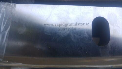 80071984 Rapid Granulator Cutting Edge Rapidgranulator