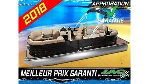 2018 Legend Boats Ponton Black Series Bar 90 ELPT Bateau pêche *