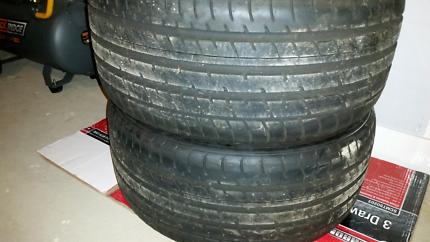 Toyo proxies tyres 255 35 19
