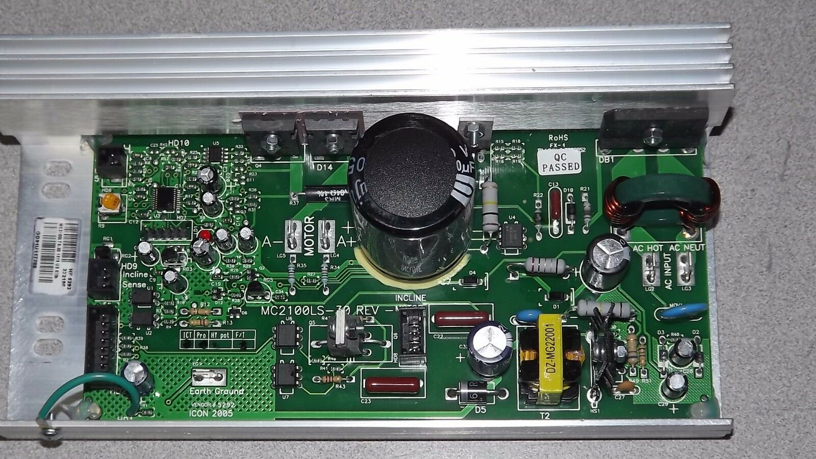 MC2100LTS-30 266333 ProForm NordicTrack GoldsGym Treadmill Motor Controller
