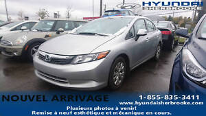 2012 Honda Civic LX+A/C+BLUETOOTH+CRUISE+GRP ÉLECTRIQUE