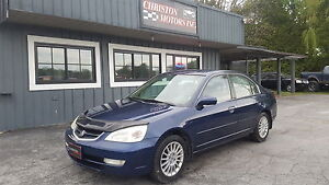 2002 Acura 1.7 EL CLEAN! SAFETIED ETESTED ONLY  $1999+taxes